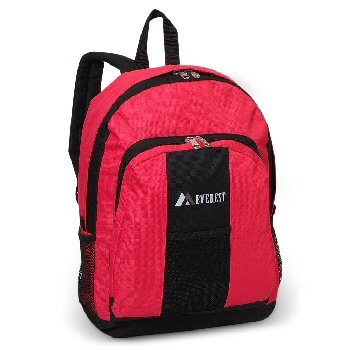 Backpack with Front & Side Pockets